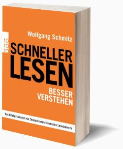 """""""Schneller lesen - besser verstehen"""" - der Bestseller zu """"Speed Reading"""" im deutschsprachigen Raum (Rowohlt Verlag). Seit 2008 über zwölf Auflagen und über 80.000 verkaufte Exemplare"""